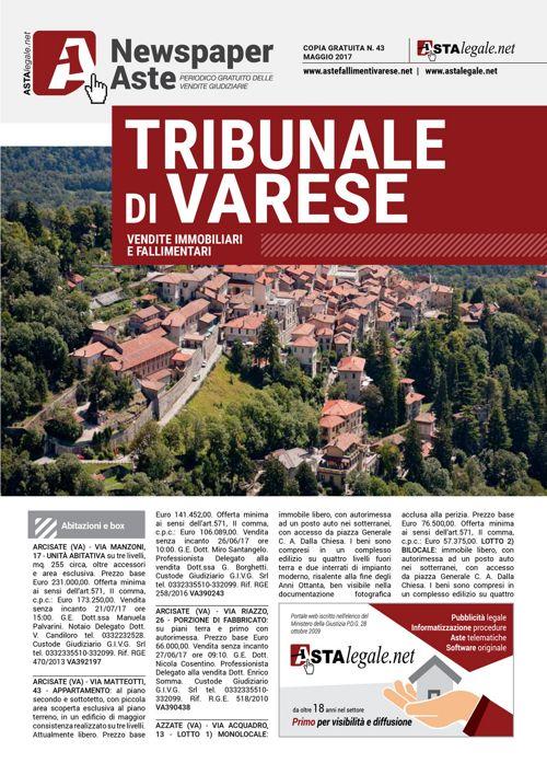 Varese maggio 2017