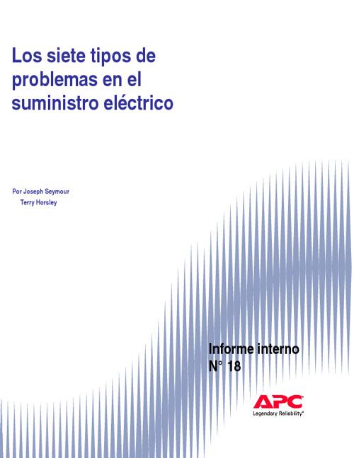 Las Siete Fallas del Suministro Electrico