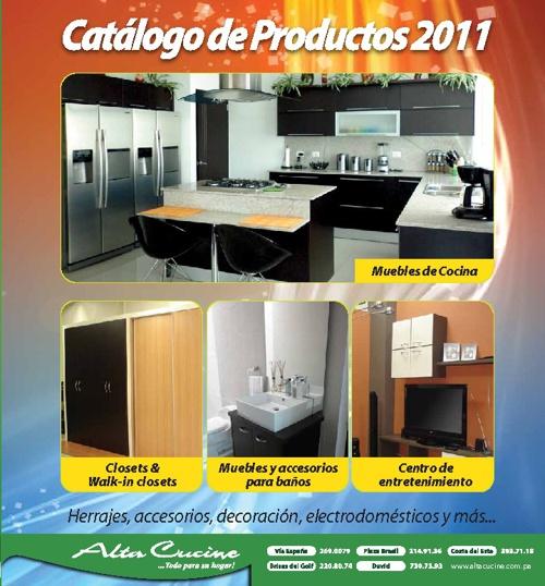 Catálogo Alta Cucine 2011