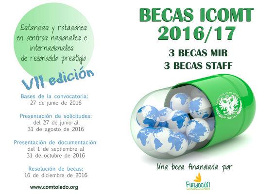 Bases Becas MIR 2016 17 ICOMT