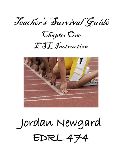 Copy of Teacher's Survival Guide: Chapter One