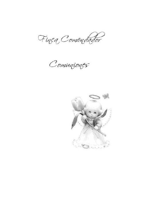 Hotel Comendador - Comuniones 2016