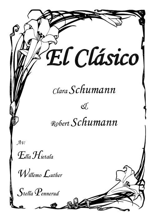El Clásico - Schumann