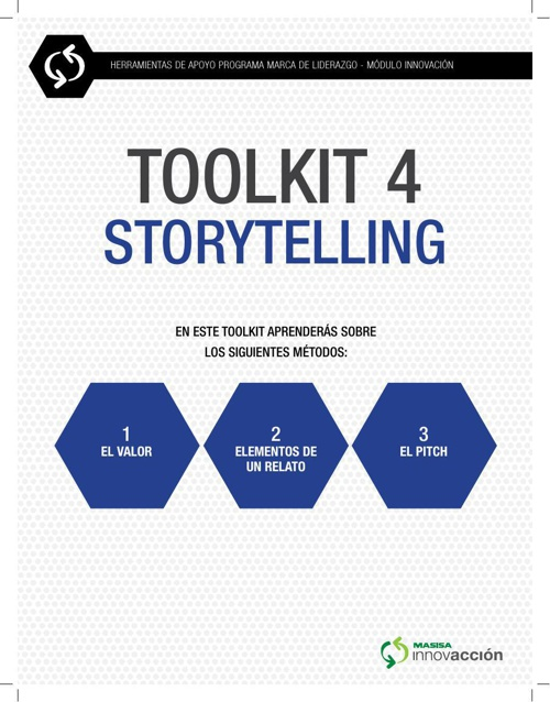 STORYTELLING (TOOL KIT 4)