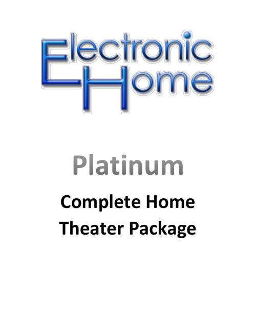 EH Platinum Theater Package