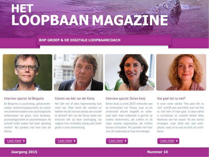 Het Loopbaan Magazine - nummer 10