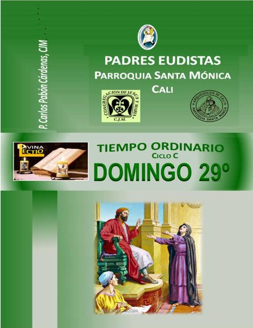 DOMINGO 29º T.O CICLO  C