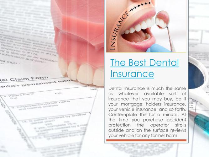 No Waiting Period Dental Insurance