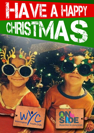Christmas Wishes from Warrington Youth Club