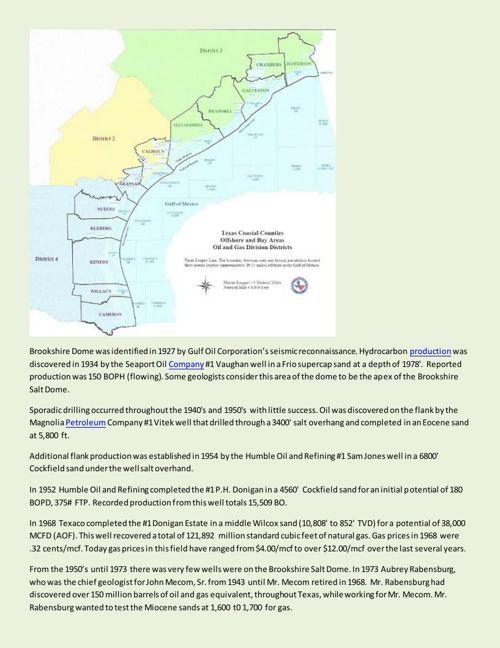 Texas Energy Exploration LLC - Exploration History
