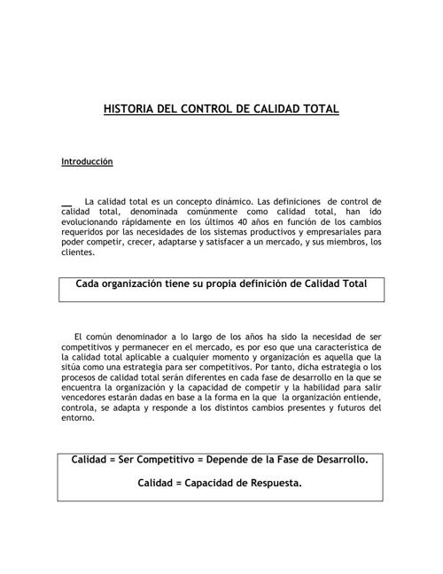 historia. de calidad pdf