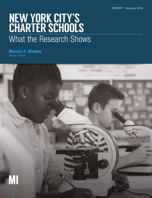 New York City's Charter Schools: What the Research Shows