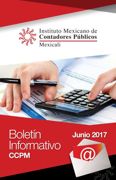 Boletín Informativo - Junio 2017