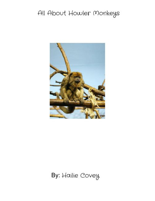 All About Howler Monkeys
