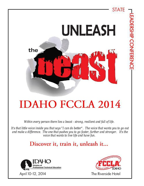 Idaho FCCLA 2014 Conference Program