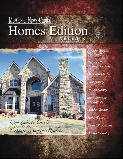 Homes Book- McAlester