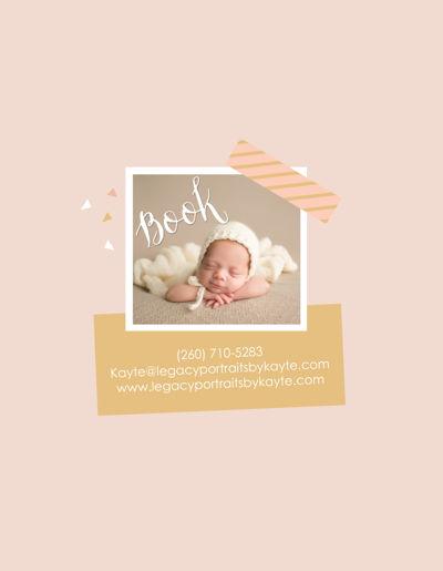 Legacy Portraits by Kayte Newborn Guide