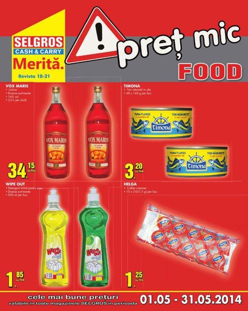 Oferta Selgros Food