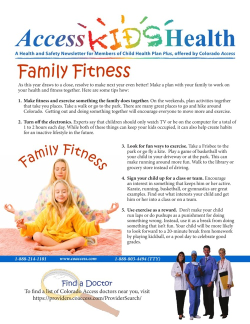 Access Kids Health - Family Fitness