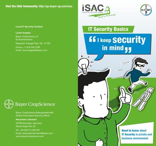 ISAC Brochure USA