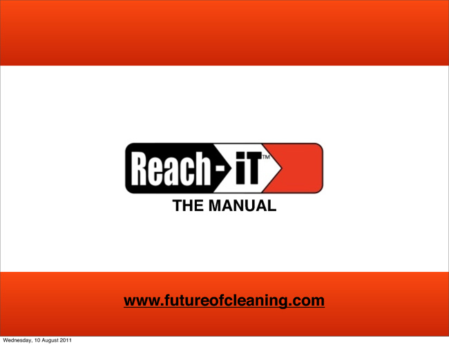 Master Reach-iT MANUAL