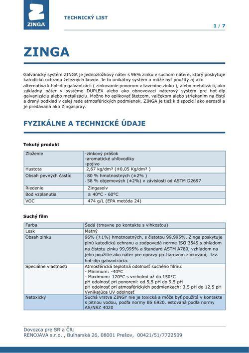 TL ZINGA SK 2015