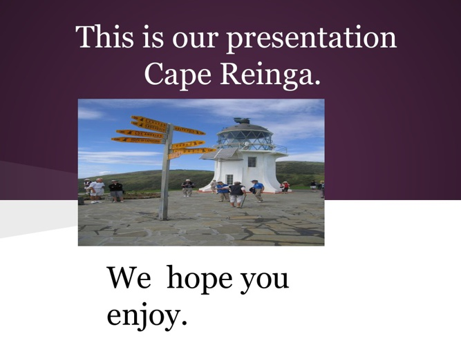 Cape Reingaoo