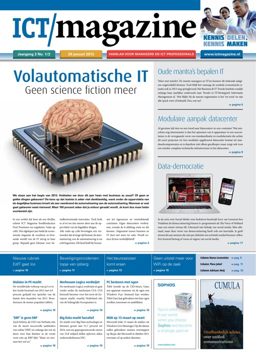 ICT Magazine editie januari / februari