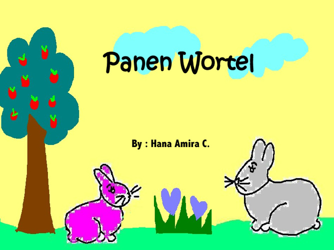 Panen wortel mini E-book