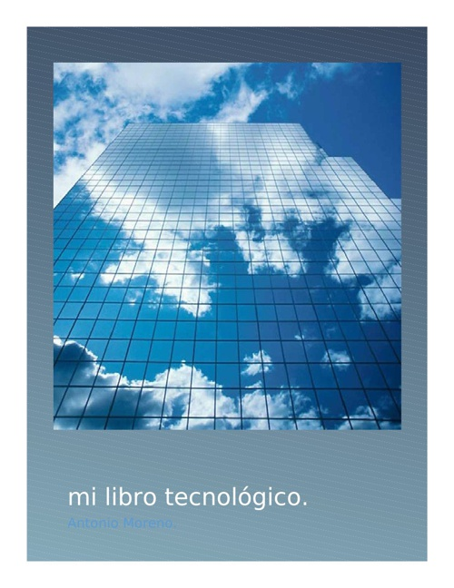 Mi libro electronico