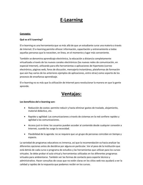 Document-elearning