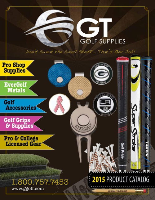GT Golf Supplies Catalog - 2015