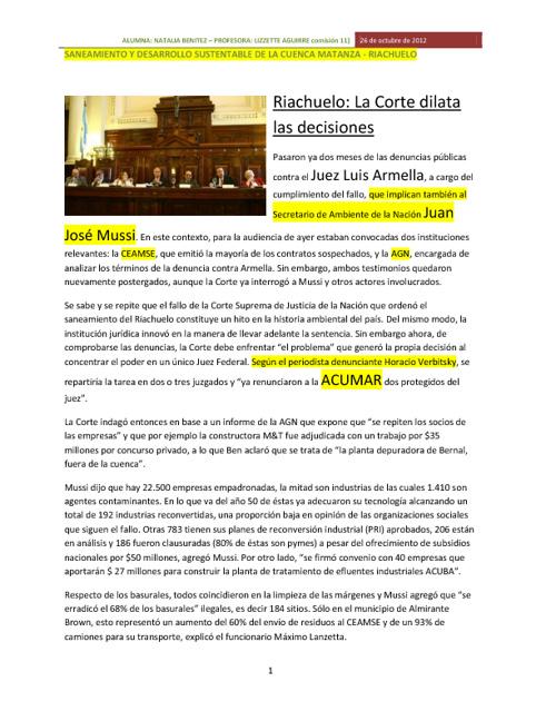 CUENCA MATANZA - RIACHUELO