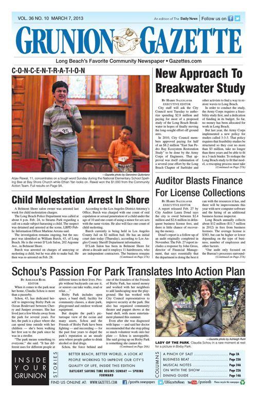 Grunion Gazette | March 7, 2013