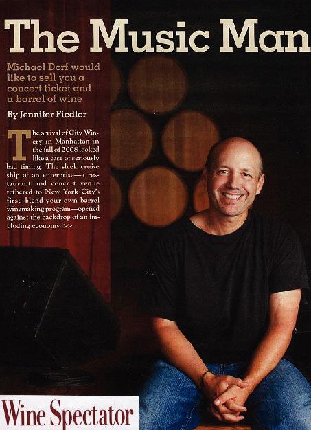 Wine Spectator-The Music Man
