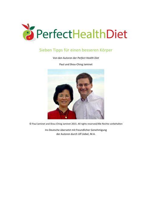 PerfectHealthDiet - 7 Tipps
