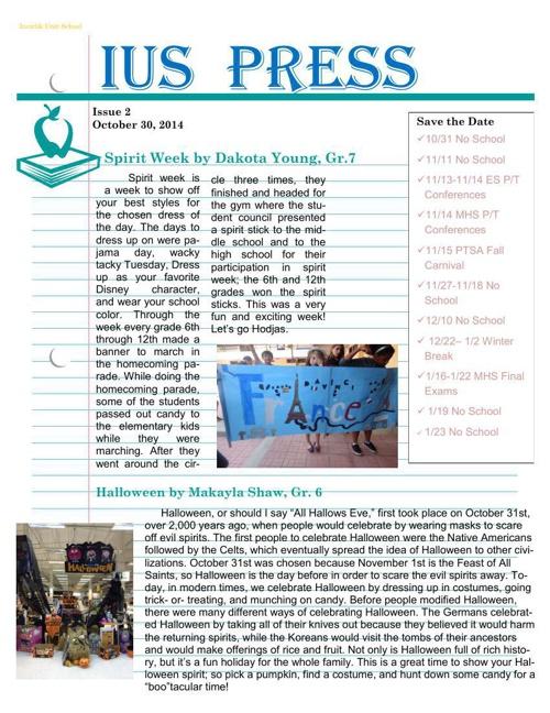 IUS Press Issue 2 14-15