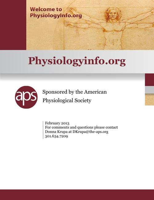 Physiologyinfo.org