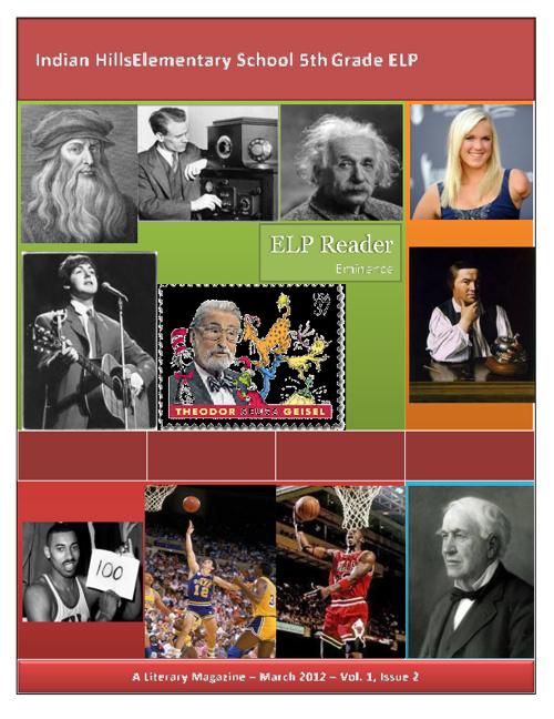 ELP Reader Vol. 1, Issue 2