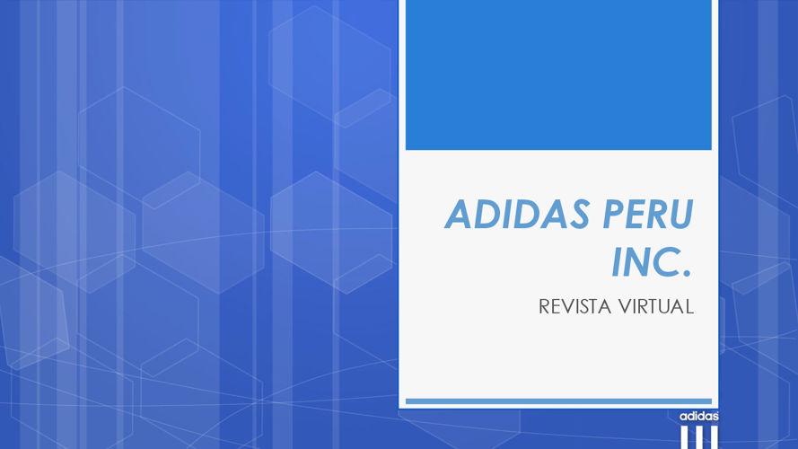 ADIDAS PERU INC. - REVISTA