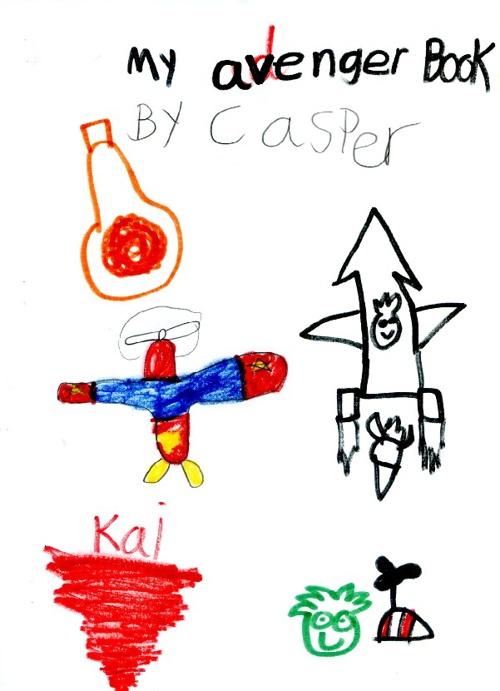 The Avenger Book by Casper