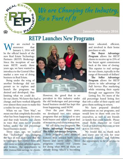 RETP Jan/Feb Newsletter