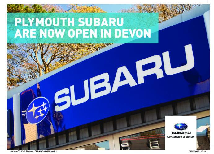 Subaru Q3 2016 Plymouth