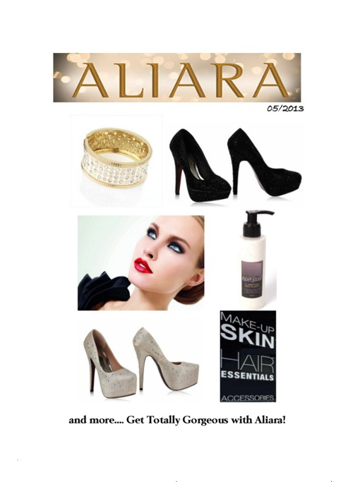 ALIARA May Catalogue - 2013