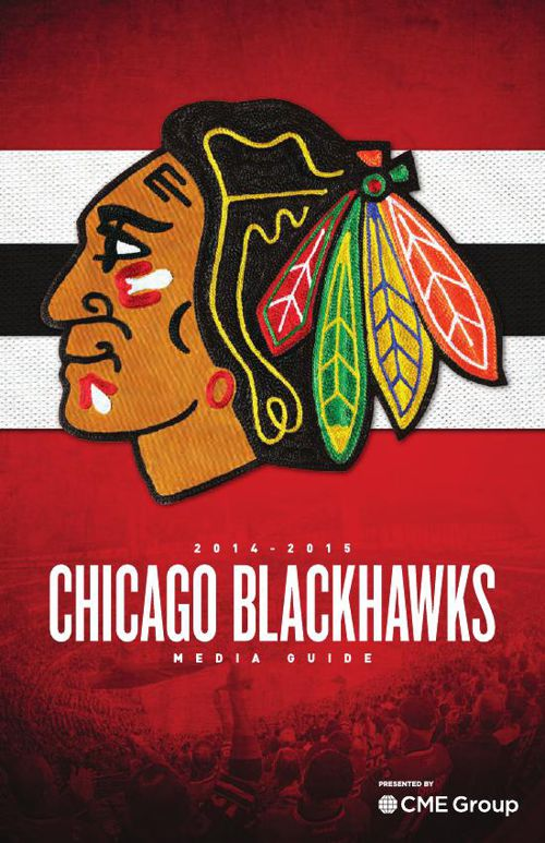 2014-15 Chicago Blackhawks Media Guide