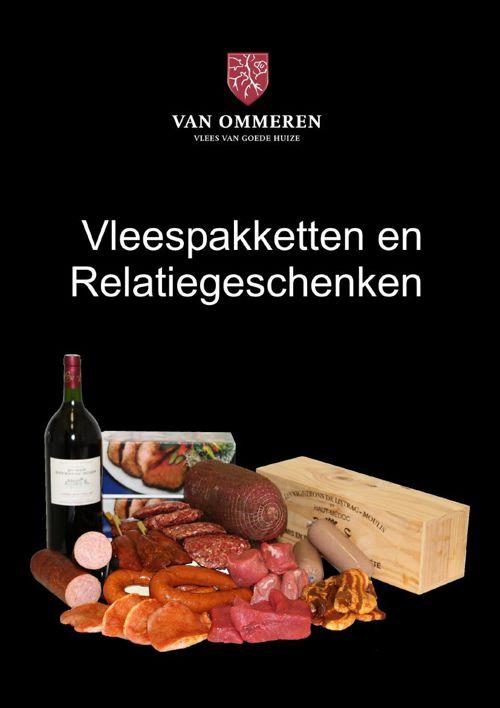 Vleespakket en Relatiegeschenk Van Ommeren Vlees
