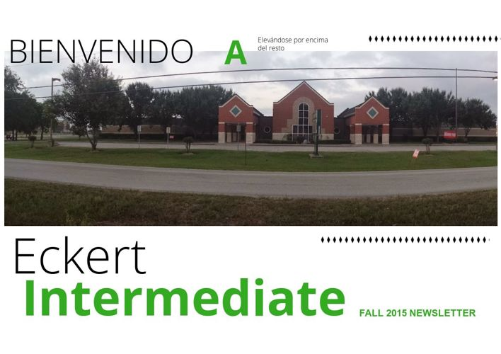 Copy of Eckert Intermediate Fall 2015 Newsletter