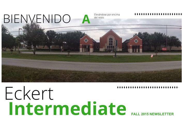 Copy of Eckert Intermediate Fall 2015 Newsletter