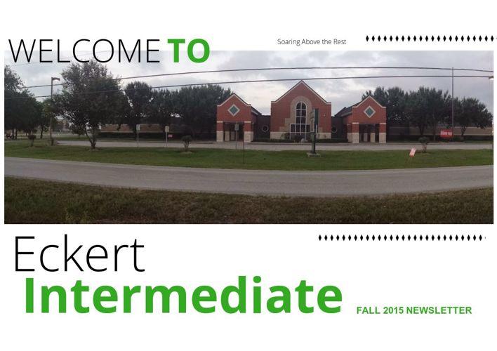 Eckert Intermediate Fall 2015 Newsletter