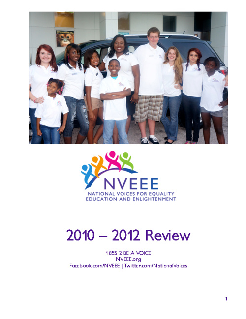 NVEEE 2010-2012 Year In Review